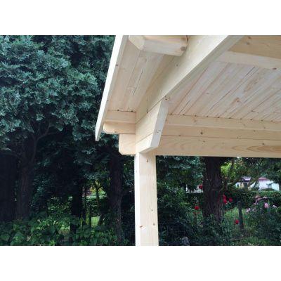 Bild 3 von Azalp Blockhaus Tim 450x450 cm, 30 mm