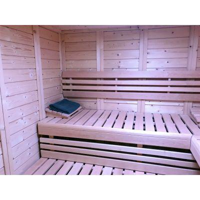 Afbeelding 27 van Azalp Sauna Luja 240x240 cm, 45 mm