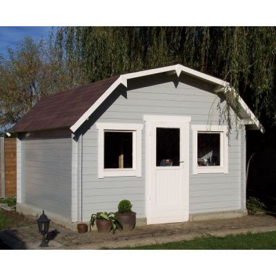 Bild 4 von Azalp Blockhaus Yorkshire 550x550 cm, 45 mm