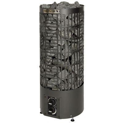 Hauptbild von Mondex Pipe Tower Heater Black 9,0 kW