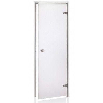Hoofdafbeelding van Hot Orange Stoombad deur Au 80x210 cm, mat blank