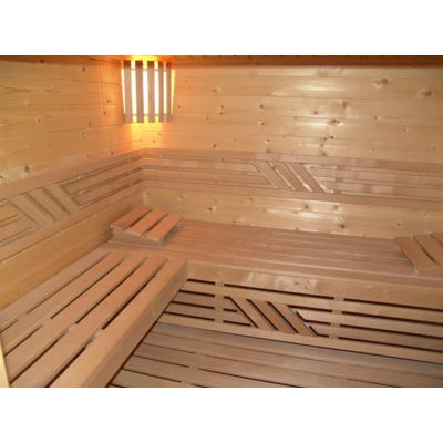 Afbeelding 8 van Azalp Saunabank recht, Elzen breedte 50 cm