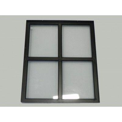 Afbeelding 2 van Azalp Stalen raam vast, 500x600 mm