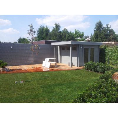 Bild 31 von Azalp Blockhaus Sven 400x450 cm, 45 mm