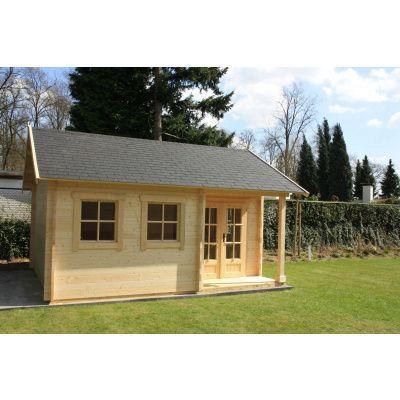 Afbeelding 9 van Azalp CLASSIC blokhut Cottage Style Cumberland 520x430 cm, 45 mm