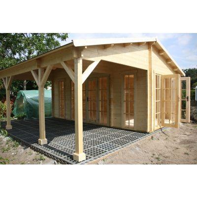 Bild 17 von Azalp Blockhaus Ben 650x650 cm, 60 mm