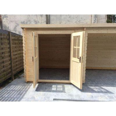 Bild 19 von Azalp Blockhaus Sanne 600x250 cm, 30 mm