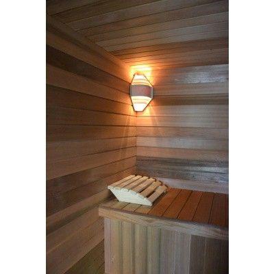 Afbeelding 2 van Azalp Sauna hoofdsteun Abachi (A-H0003)