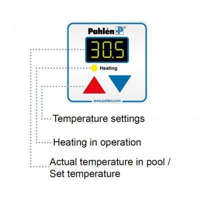 Afbeelding 3 van Pahlen Aqua HL Line 12 kW - Digitaal voor zwembaden