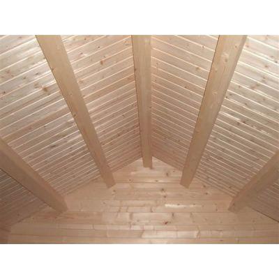 Bild 10 von Azalp Blockhaus Tim 450x450 cm, 30 mm