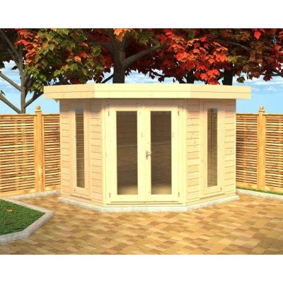 Hauptbild von Azalp Blockhaus Dario 270x270 cm, 45 mm