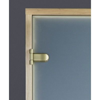 Afbeelding 5 van Ilogreen Saunadeur Trend (Elzen) 209x69 cm, melkglas