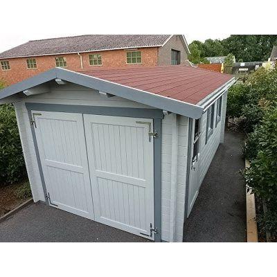 Afbeelding 29 van Azalp Garage Thijs 380x700 cm, 60 mm