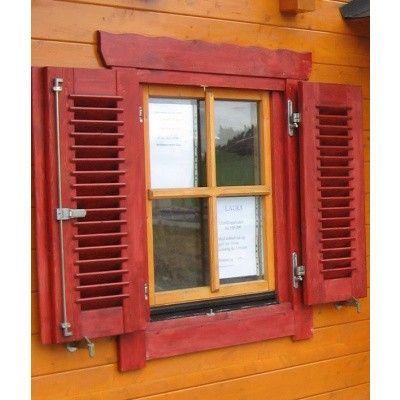 Hoofdafbeelding van Azalp Luikenset raam 80x94 cm, lamellen*