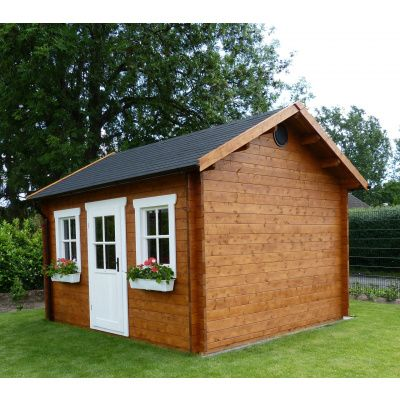 Bild 51 von Azalp Blockhaus Lis 450x350 cm, 45 mm