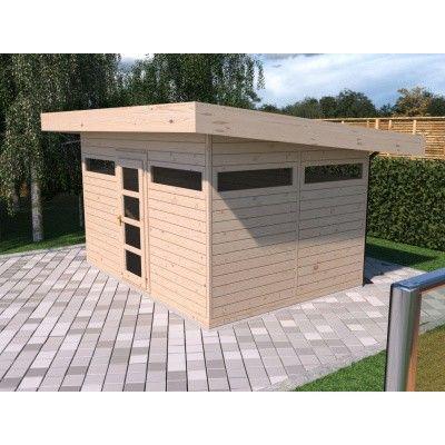 Bild 3 von SmartShed Blockhaus Amando 400x300 cm, 45 mm
