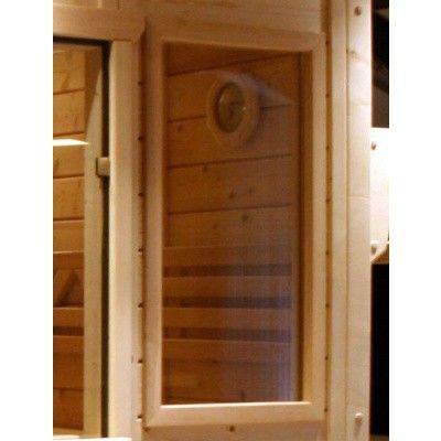 Hoofdafbeelding van Azalp Saunaraam massieve sauna Genio 41x76 cm*