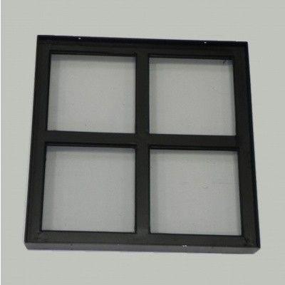 Afbeelding 2 van Azalp Stalen raam vast, 400x400 mm