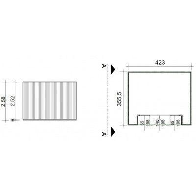 Bild 2 von SmartShed Gartenhaus Nicho 423x356 cm
