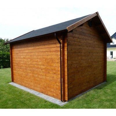 Bild 52 von Azalp Blockhaus Lis 350x350 cm, 30 mm