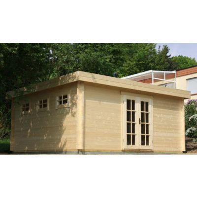 Bild 18 von Azalp Blockhaus Ingmar 350x400 cm, 45 mm