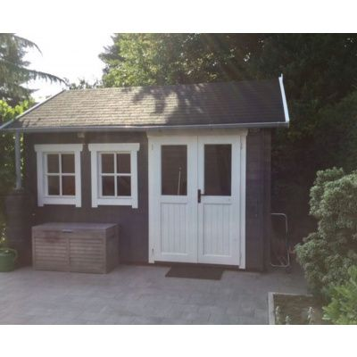 Bild 36 von Azalp Blockhaus Lynn 450x400 cm, 45 mm