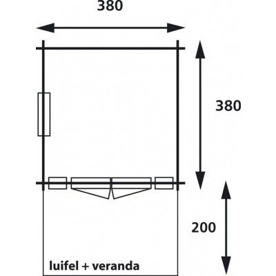 Afbeelding 2 van Interflex 3838 Luxe, geverfd
