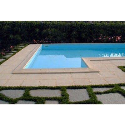 Afbeelding 7 van Trend Pool Boordstenen Ibiza 350 wit (complete set rond)