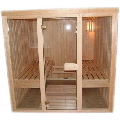 Bild 4 von Azalp Optic Elementsauna 203x186 cm, Erle