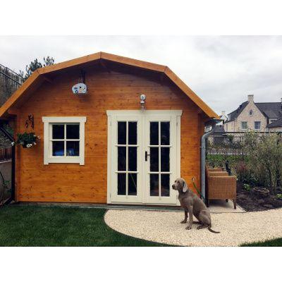Bild 16 von Azalp Blockhaus Cornwall 400x350 cm, 30 mm