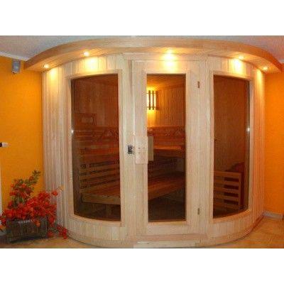 Bild 6 von Azalp Sauna Runda 220x203 cm, Espenholz