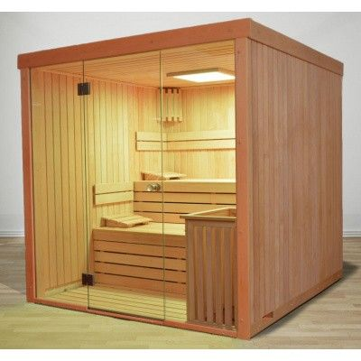 Afbeelding 45 van Azalp Sauna rugleuning Lumen, Elzen