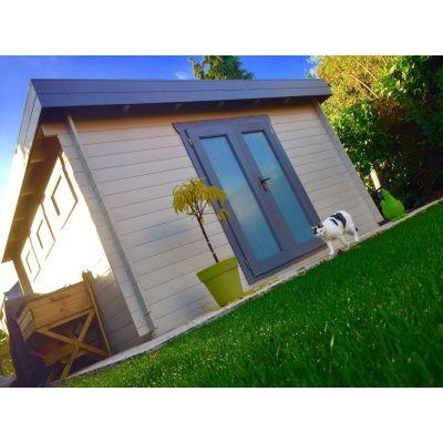 Bild 95 von Azalp Blockhaus Ingmar 400x450 cm, 30 mm