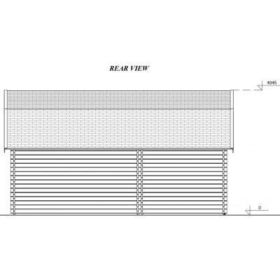 Afbeelding 7 van Graed Mississippi Garage 500x595 cm, 44 mm