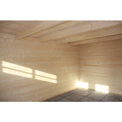 Bild 17 von Azalp Blockhaus Lars 450x450 cm, 45 mm