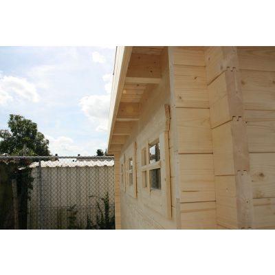Bild 53 von Azalp Blockhaus Ingmar 400x450 cm, 30 mm