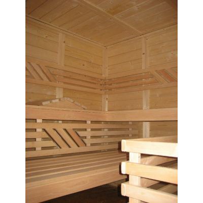 Afbeelding 14 van Azalp Massieve sauna Genio 166x166 cm, 45 mm