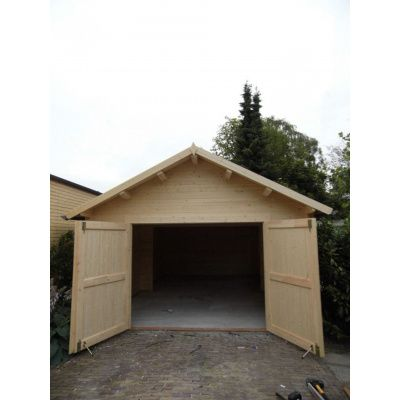 Afbeelding 14 van Azalp Garage Keutenberg 380x536 cm, in 60 mm