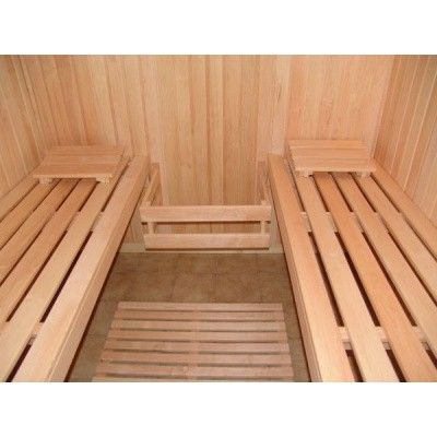 Bild 2 von Azalp Optic Elementsauna 203x186 cm, Erle