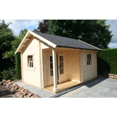 Afbeelding 5 van Azalp CLASSIC blokhut Cottage Style Cumberland 520x430 cm, 45 mm