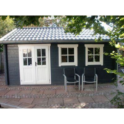 Bild 39 von Azalp Blockhaus Lynn 450x400 cm, 45 mm
