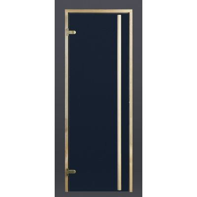 Hoofdafbeelding van Ilogreen Saunadeur Exclusive (Elzen) 79x199 cm, blauwglas