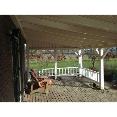Afbeelding 8 van Azalp Houten veranda 400x400 cm