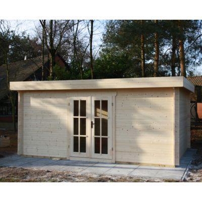 Bild 64 von Azalp Blockhaus Ingmar 596x596 cm, 45 mm
