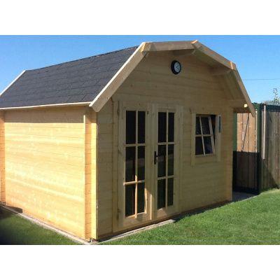 Bild 21 von Azalp Blockhaus Cornwall 400x300 cm, 45 mm