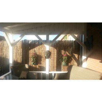 Bild 25 von Azalp Terrassenüberdachung Holz 400x300 cm