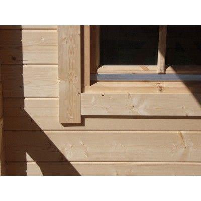 Bild 13 von Azalp Blockhaus Cottage Style Cumberland 520x430 cm, 45 mm