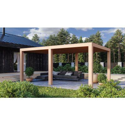 Hoofdafbeelding van WoodAcademy Ruby Excellent Douglas Overkapping 580x400 cm