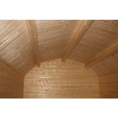 Bild 12 von Azalp Blockhaus Yorkshire 500x550 cm, 45 mm