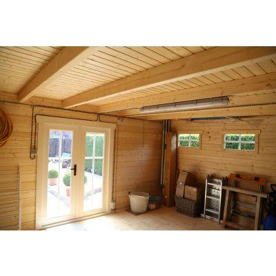 Bild 3 von Azalp Blockhaus Ingmar 350x350 cm, 30 mm